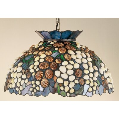 Seashell 3-Light Bowl Pendant