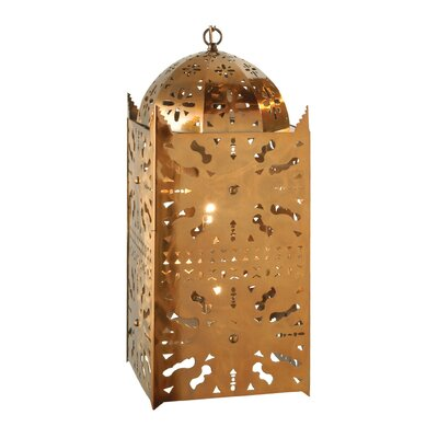 Moroccan 2-Light Mini Pendant Size: 28.5 - 172.50 H x 10 W x 10 D