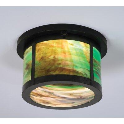 Craftsman 2-Light Flush Mount
