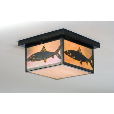 Bonefish 2-Light Flush Mount
