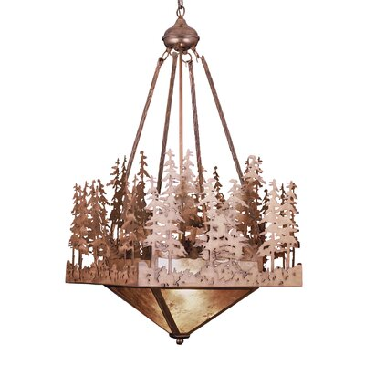 Pine Lake 2-Light Inverted Pendant Finish: Antique Copper