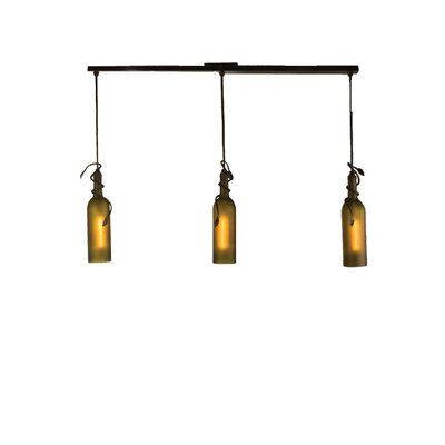 Tuscan Vineyard 3-Light Kitchen Island Pendant