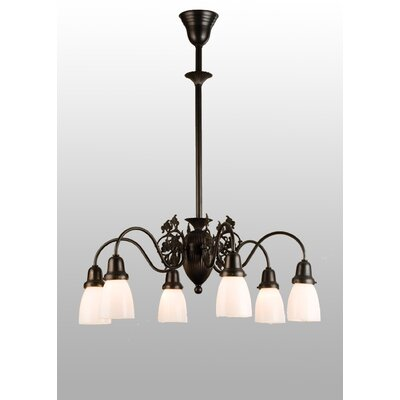 Binghamton Goblet 6-Light Shaded Chandelier