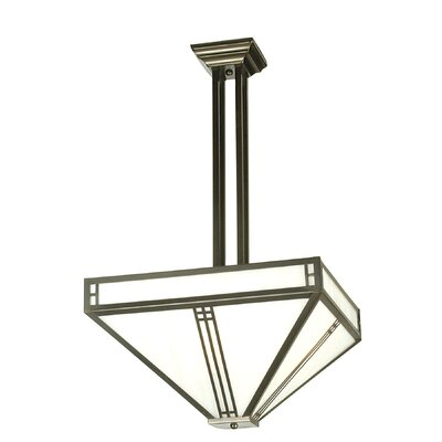 Prairie Loft Mission 4-Light Semi Flush Mount