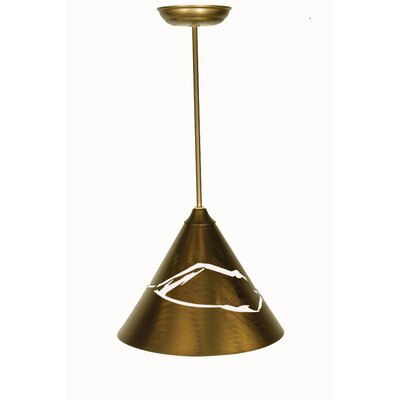 Mountain View 1-Light Mini Pendant