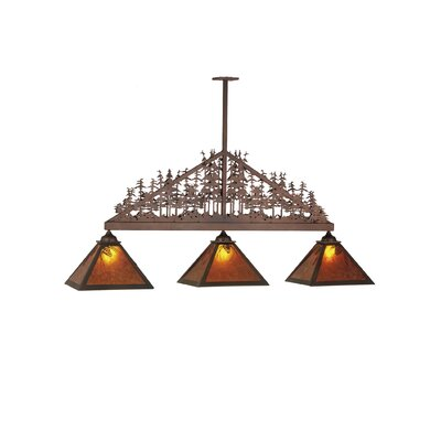 Mountain Pine 3-Light Kitchen Island Pendant