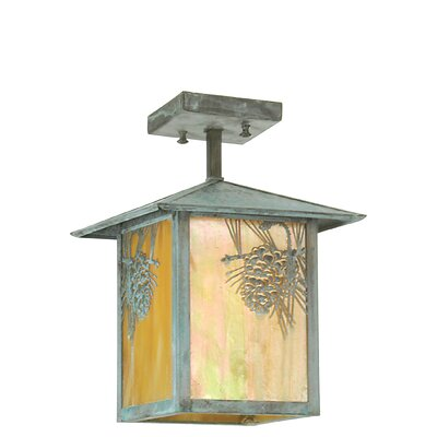 Seneca Winter Pine 1-Light Mini Pendant