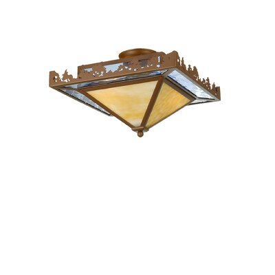 Pine Lake 2-Light Flush Mount