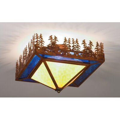 Pine Lake 4-Light Flush Mount