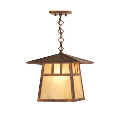Stillwater Double Bar Mission 1-Light Foyer Pendant