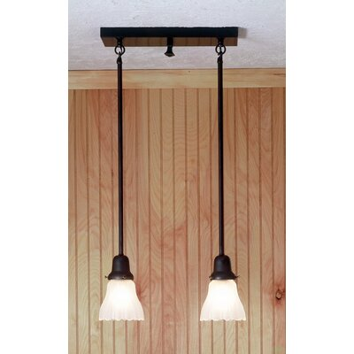 Revival Oyster Bay Garland 2-Light Kitchen Island Pendant