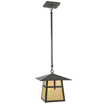 Stillwater Cross Mission 1-Light Mini Pendant