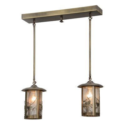 Fulton Song Bird 2-Light Kitchen Island Pendant