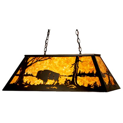 Buffalo 9-Light Pool Table Light