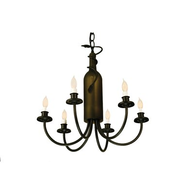 Tuscan Vineyard 6-Light Candle-Style Chandelier
