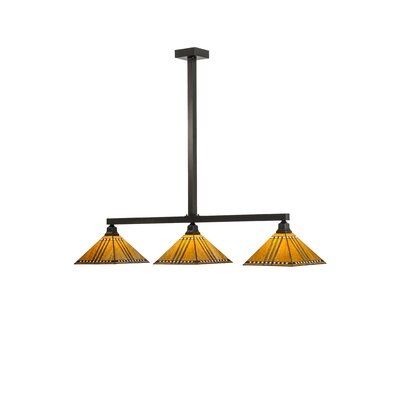 Prairie Corn 3-Light Kitchen Island Pendant