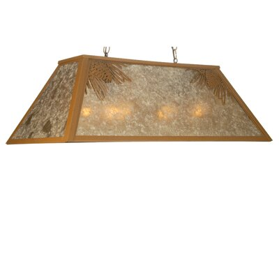 Mountain Pine 6-Light Pool Table Light