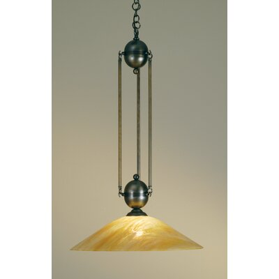 Revival Deco Ball 1-Light Mini Pendant