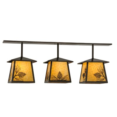 Stillwater Mountain Pine 3-Light Kitchen Island Pendant