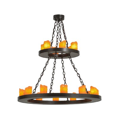 Loxley 18-Light Candle-Style Chandelier