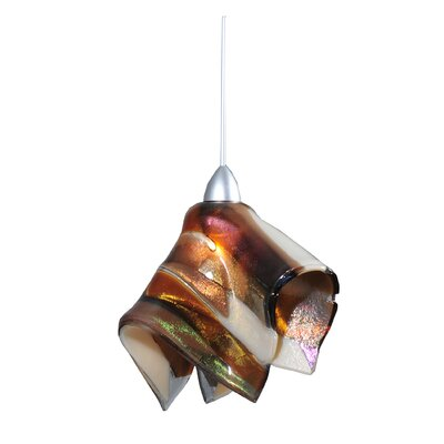 Metro Fusion Marina Handkerchief 1-Light Mini Pendant