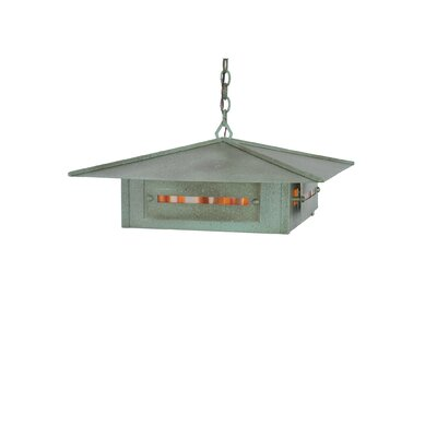 Moss Creek Creekside 4-Light Foyer/Lantern Pendant Size: 14 - 44.5 H x 35 W x 35 D