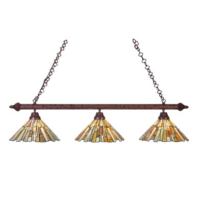 Delta Jadestone 3-Light Kitchen Island Pendant