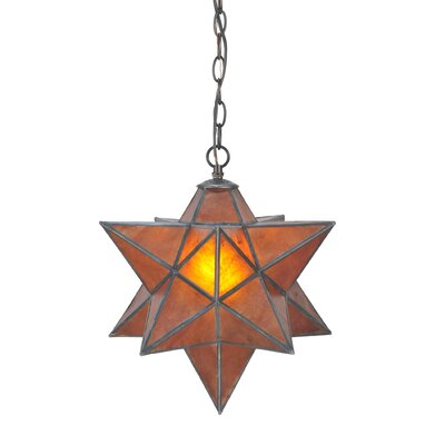 Moravian Star 1-Light Mini Pendant