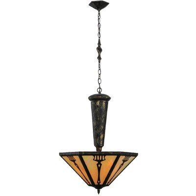 Grenway Iridescent 3-Light Inverted Pendant