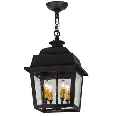 Greenbriar Oak 4-Light Lantern Pendant