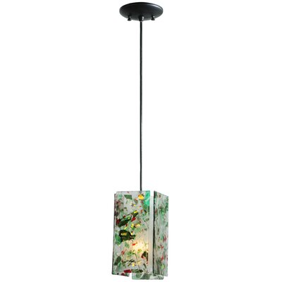 Metro Fusion Parade Quadrato 1-Light Mini Pendant