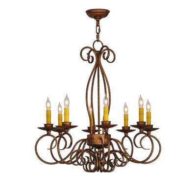 Elisha 8-Light Candle-Style Chandelier