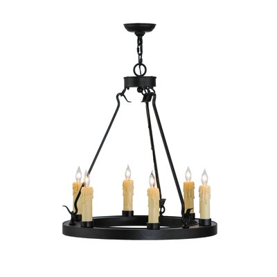 Deina 6-Light Candle-Style Chandelier