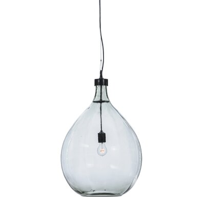 Greenbriar Oak Euri Tanta 1-Light Globe Pendant