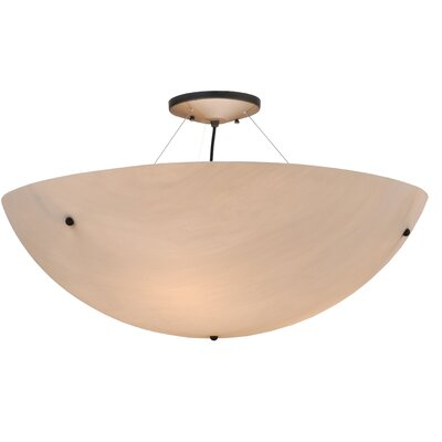 Greenbriar Oak Cypola Inverted Pendant