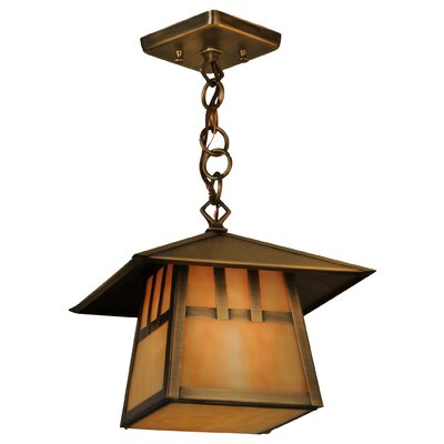 Greenbriar Oak 1-Light Mini Pendant