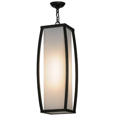 Quadrato Kitzi 1-Light Foyer Pendant Size: 35 - 64 H x 15 W x 15 D