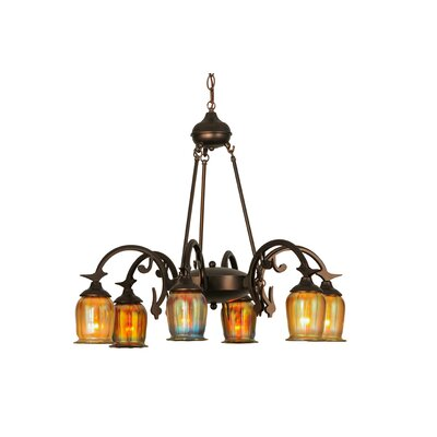 Greenbriar 6-Light Shaded Chandelier