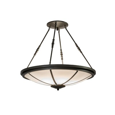 Greenbriar 6-Light Semi-Flush Mount