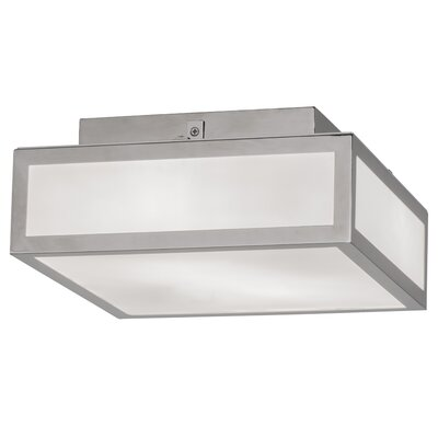 Quadrato 2-Light Flush Mount