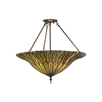 Greenbriar 3-Light Semi Flush Mount