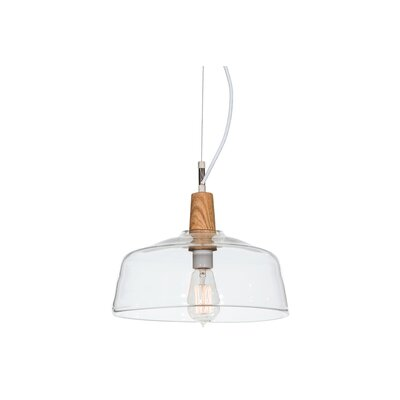 Greenbriar Oak Confection 1-Light Mini Pendant
