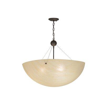Greenbriar Oak Cypola 3-Light Inverted Pendant