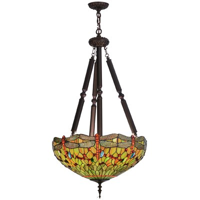 Greenbriar 5-Light Inverted Pendant