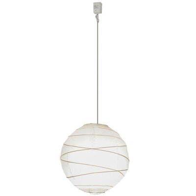 Greenbriar Oak 1-Light Globe Pendant Size: 195 H x 14 W x 14 D