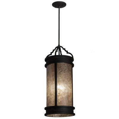 Greenbriar Oak Wyant 1-Light Mini Pendant