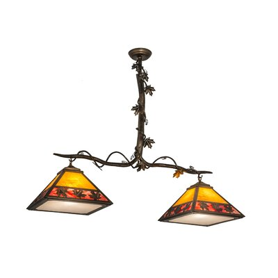 Greenbriar 2-Light Kitchen Island Pendant