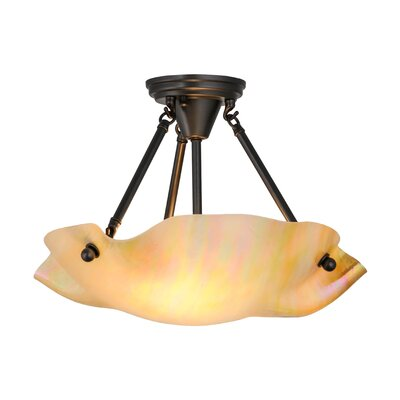 Greenbriar 2-Light Semi Flush Mount