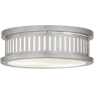 Greenbriar Oak Chisolm Passage 2-Light Flush Mount