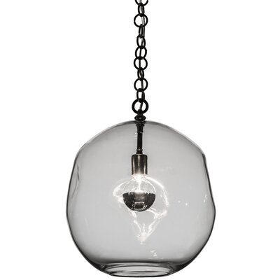 Greenbriar Oak 1-Light Globe Pendant